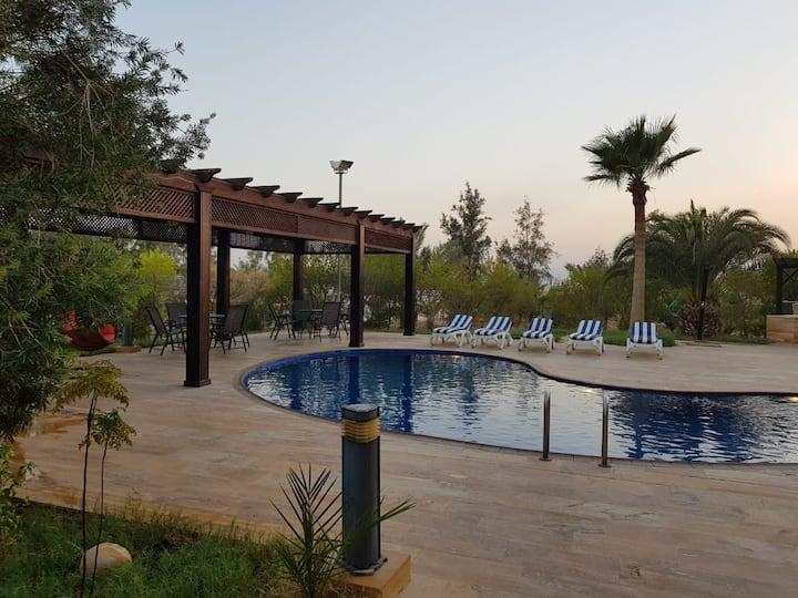 Blue Haven - A Private Villa in Dead Sea, Jordan