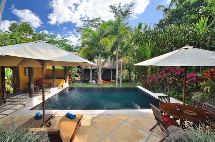 UNIQUE 2 Bedrooms Ubud Bali villa. STUNNING pool. - Ubud - Villa