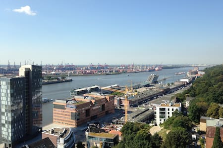 Nice flat with spectacular view - Hambourg