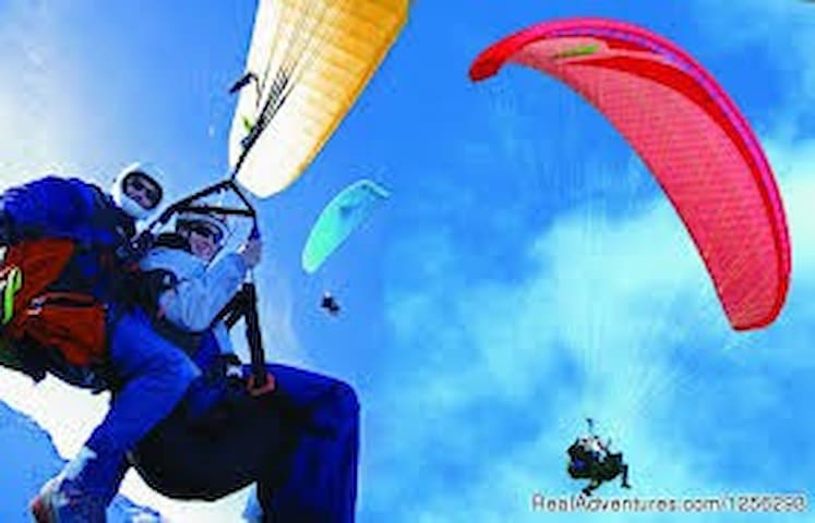 Paragliding for those who dare