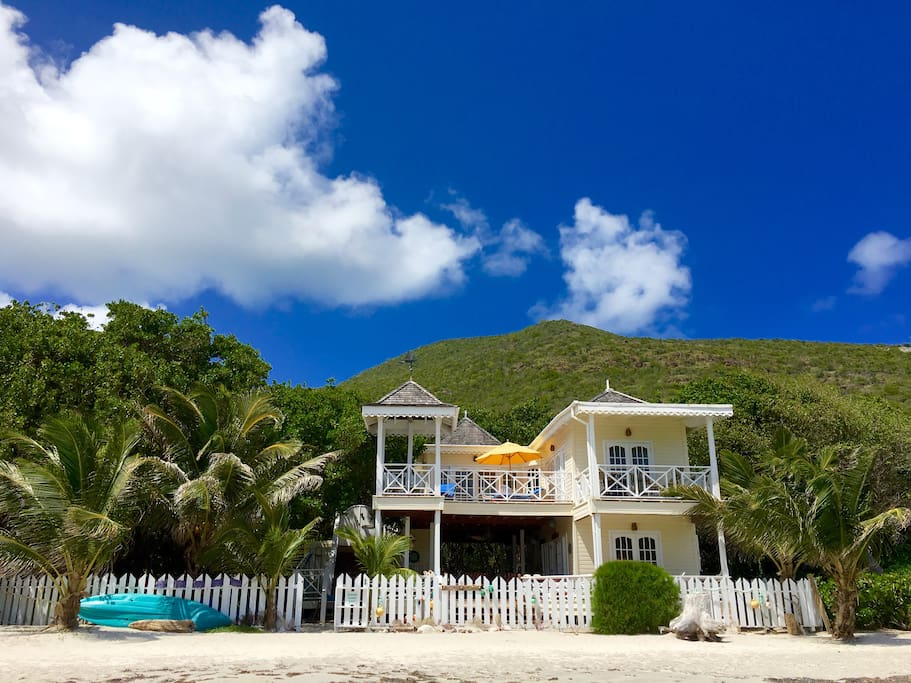 Nature Lovers Beach Front Cottage On St Kitts Cottages