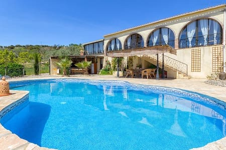 Luxury Villa, fab views, private solar heated pool - Casarabonela