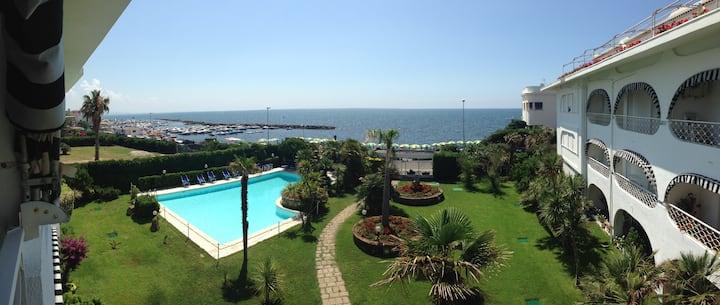 Santa Marinella piscina & mare