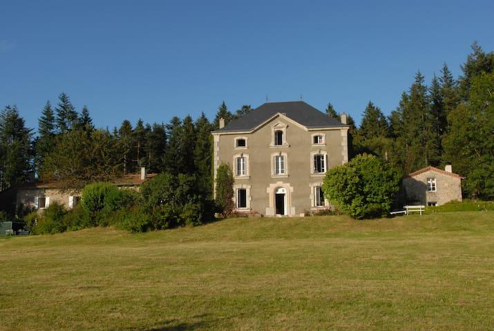 Grande demeure de charme - Saint-Régis-du-Coin - บ้าน