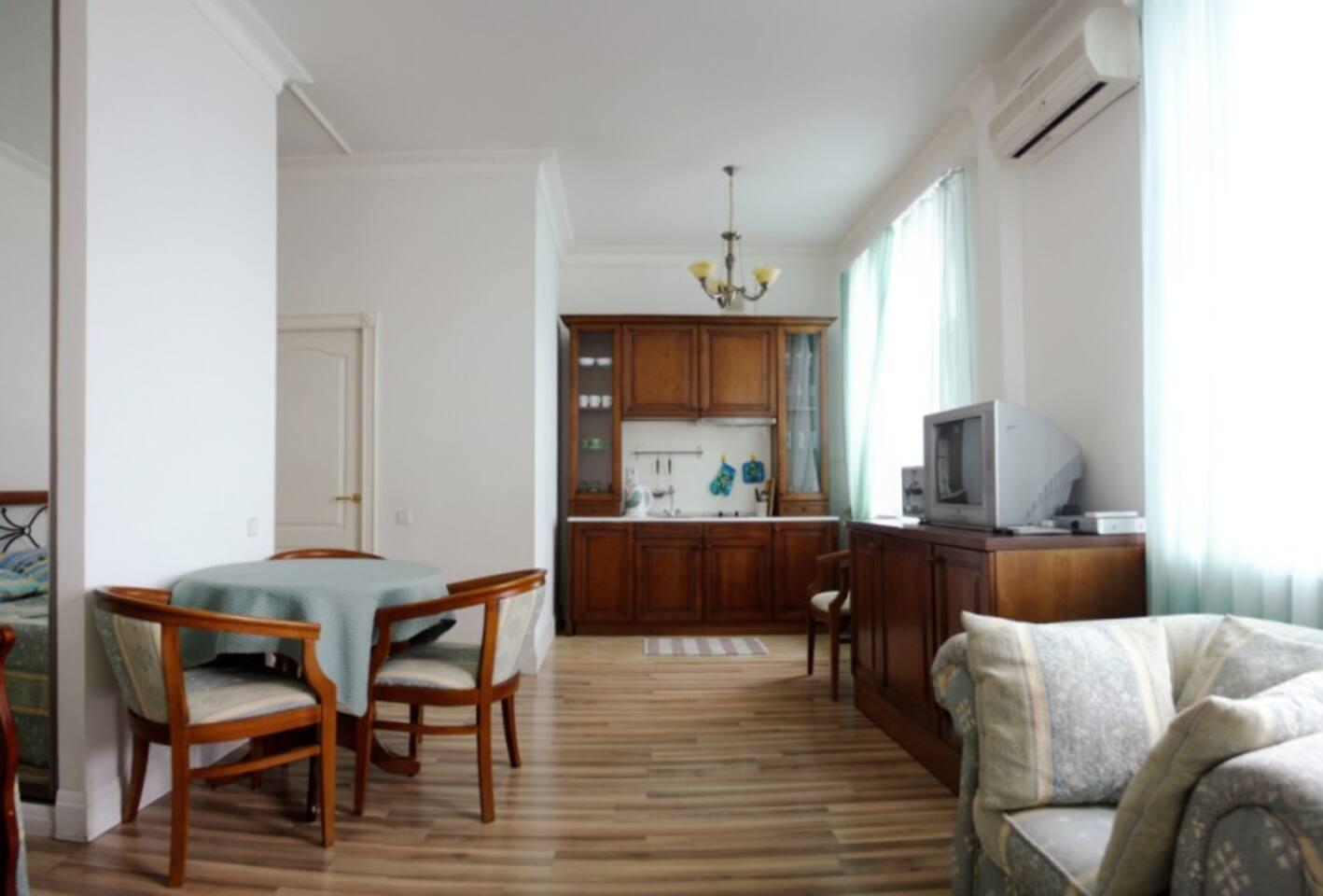 Квартира - студия .