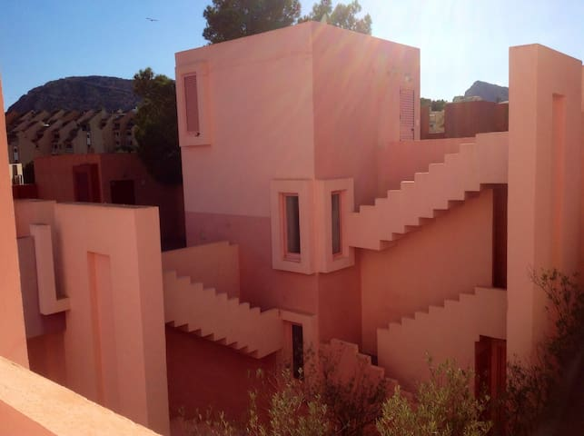 Muralla Roja amazing apartment with sea views