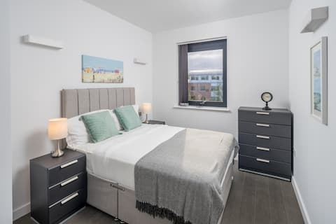 Modern 1 bed flat in St Albans near London