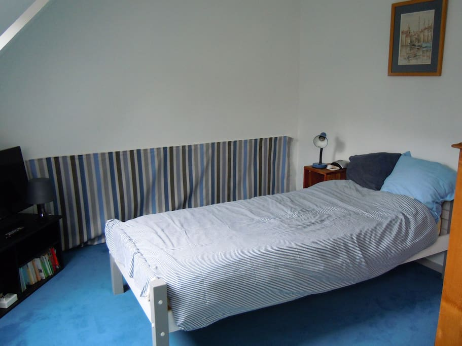 Chambre privéeà Bois Guillaume Houses for Rent in Mont Saint Aignan, Upper Normandy, France # Super U Bois Guillaume