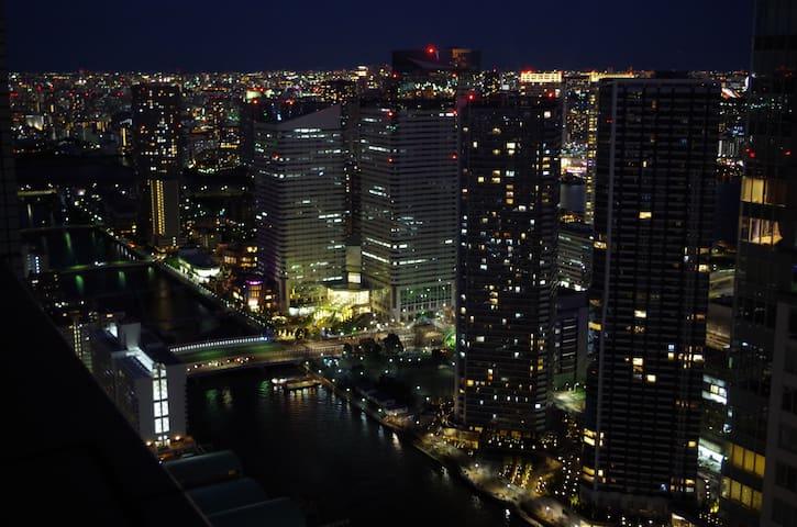 New Open Sale!!超高層タワーマンション、海と空と~ - Chūō-ku - Daire