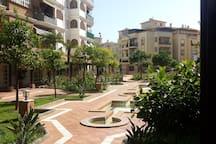 The Courtyard at Tres Coronas