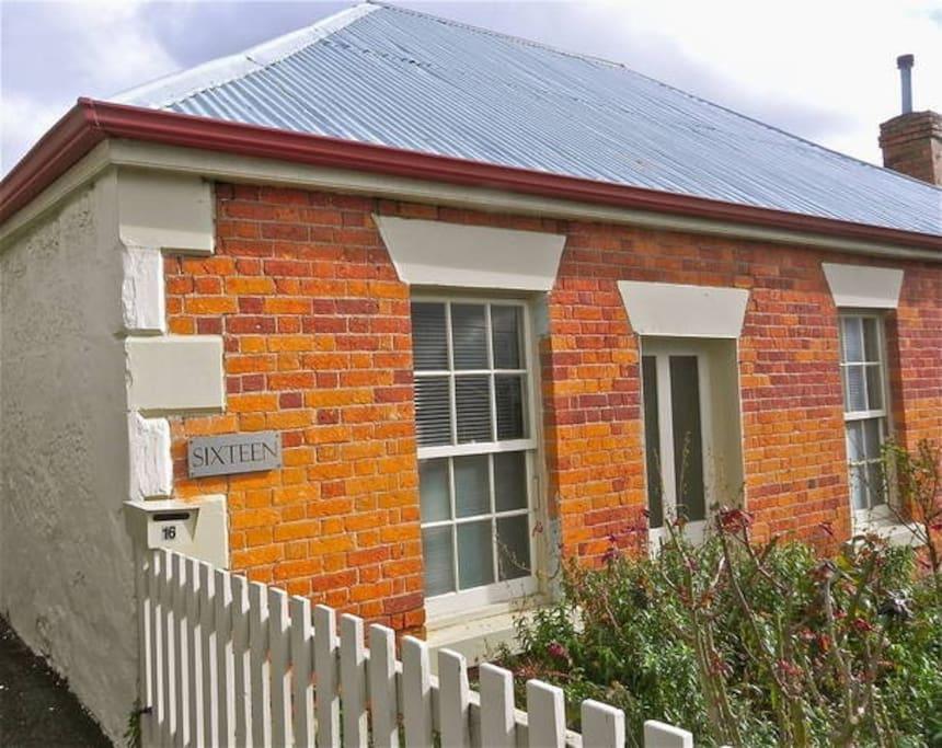 Convict brick heritage exterior
