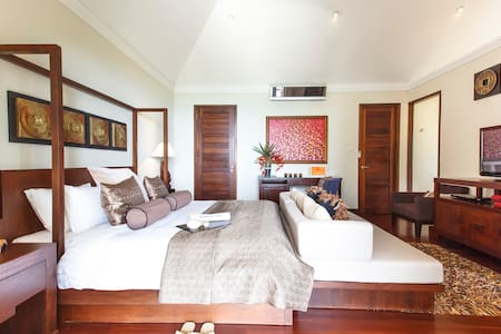Our flagship MASTER bedroom in all its glory!