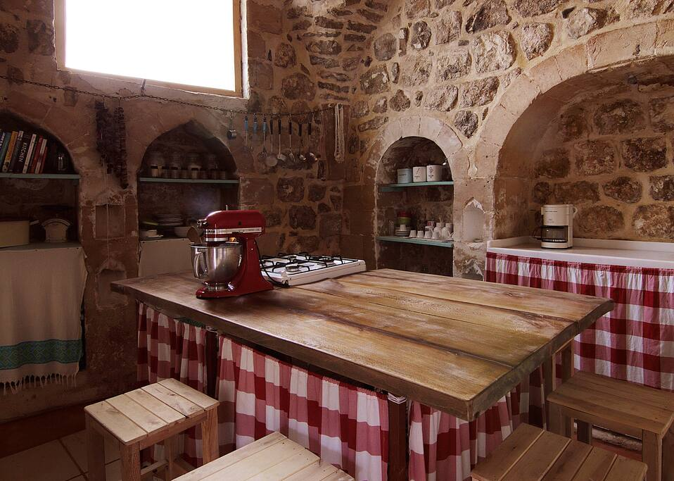 Kitchen and dining area/ Mutfak ve yemek yeme yeri