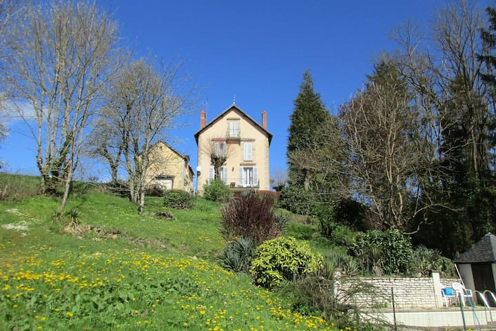 Le Chalet near the canal Nivernais - Moulins-Engilbert - Szoba reggelivel