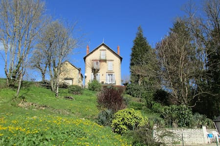 Le Chalet near the canal Nivernais - Moulins-Engilbert
