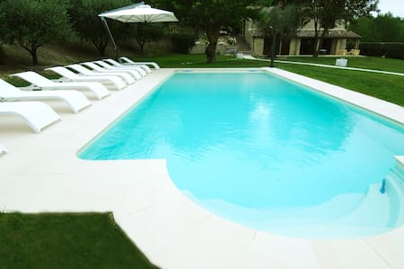 Villa Anna heated pool - Sant'Ippolito