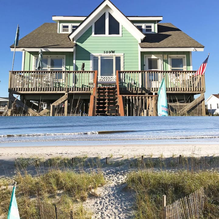 Serendipity Seaside Private Oceanfront House