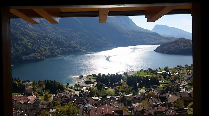 Lodge ' LE SOLEIL' Molveno al Lago (studio)**** - Molveno - Villa