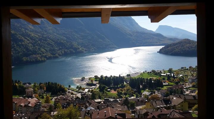 Lodge ' LE SOLEIL' Molveno al Lago (studio)****