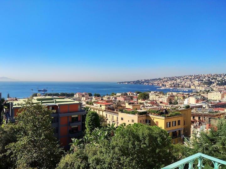 Casa Cerqua Landi Napoli-Luxury House Capri's view