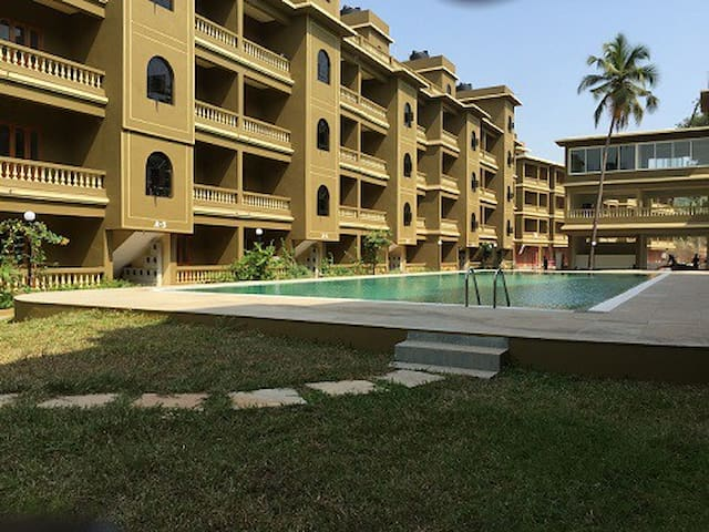 2BHK Apartment With Working WiFi:CM064 - North Goa