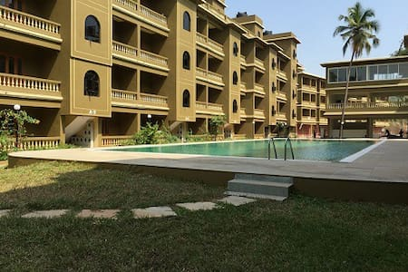 2BHK Apartment With Working WiFi:CM064 - Goa del nord - Pis