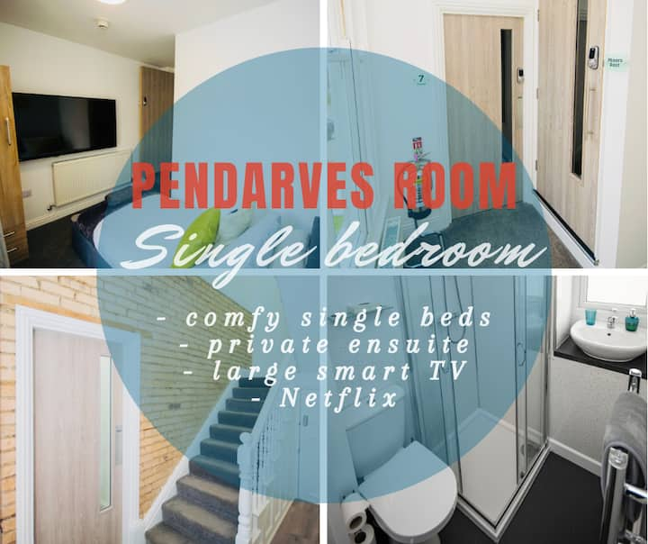 Pendarves Room - gorgeous ensuite bedroom