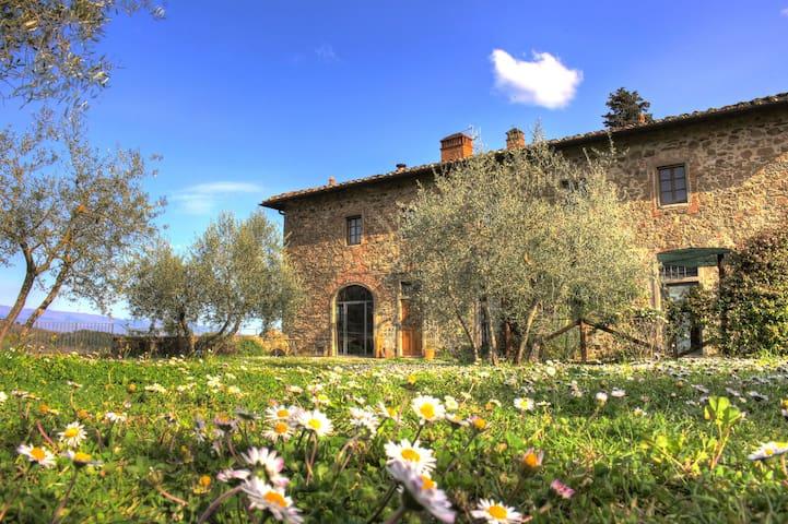 Agriturismo Casavecchia, il Glicine - Figline Valdarno - Leilighet