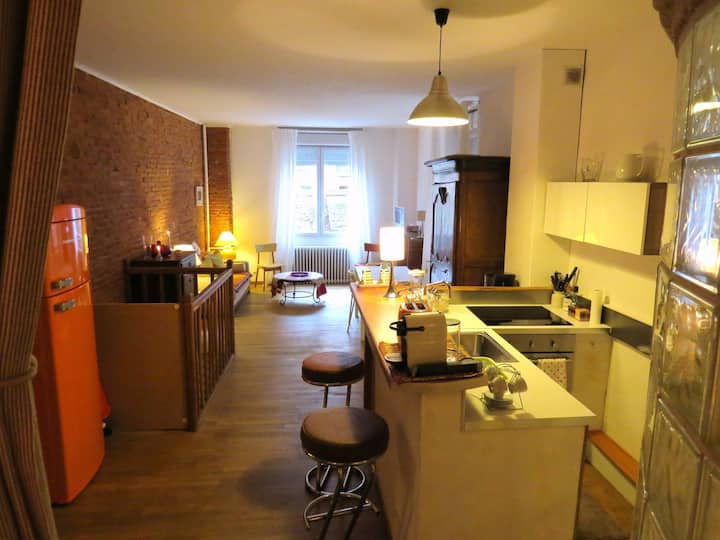 PETIT LOFT Toulousain JEAN JAURES PARKING possible
