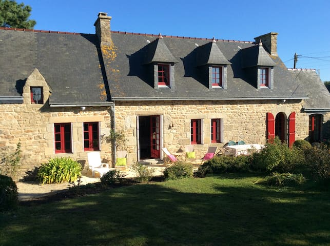 Maison typique bretonne pour 8 pers - Plouguerneau