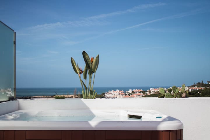 Duplex beach apartment with roof top jacuzzi