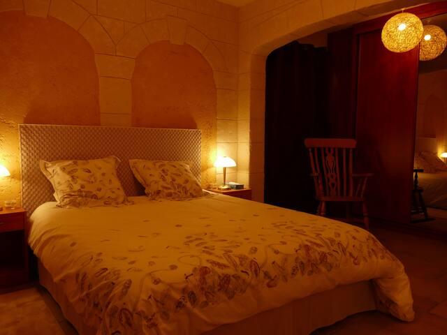 Grande Chambre d'Hôte au Domaine des Pins - Ladern-sur-Lauquet - Guesthouse