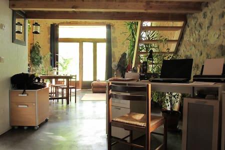 Loft de charme ancienne grange - Aix-en-Diois - Talo