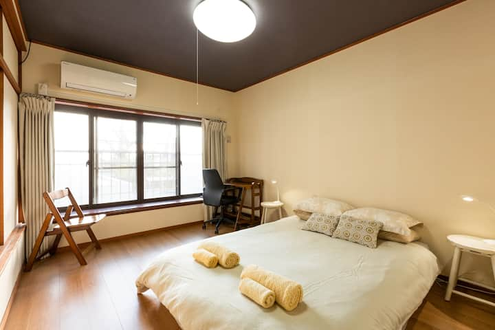 Spacious 2-bedroom house near Kyoto Station