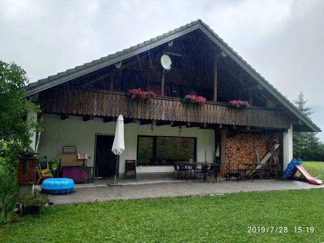 Bregenzerwald, FeWo mit gr. Terrasse und Garten