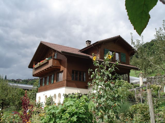 Sunny Studio, with view of the lake and mountains - CH 3654 Gunten - Apartment