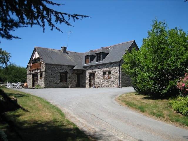 B&B farm of La Gautraie - Saint-James - Oda + Kahvaltı