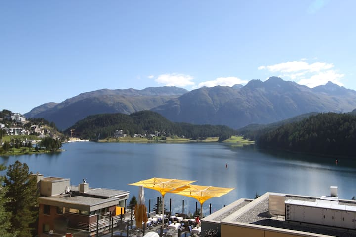 little and nice with lake-view - Saint Moritz - Departamento