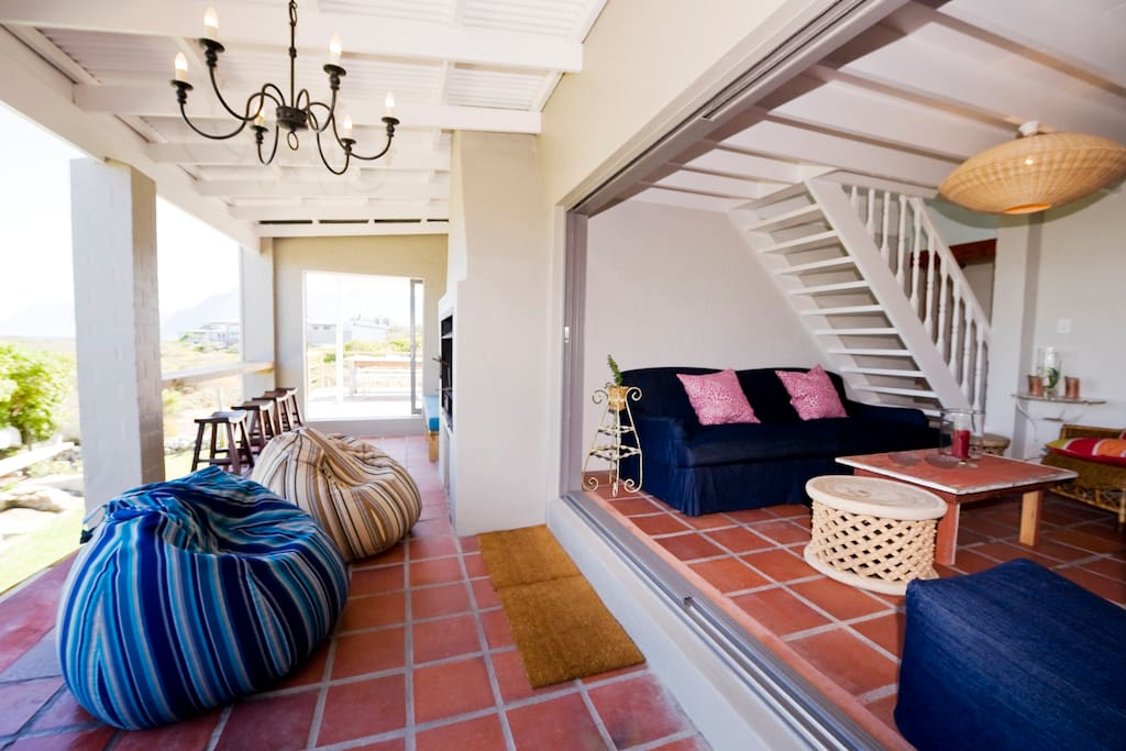 Large verandah with ample space to enjoy the views
