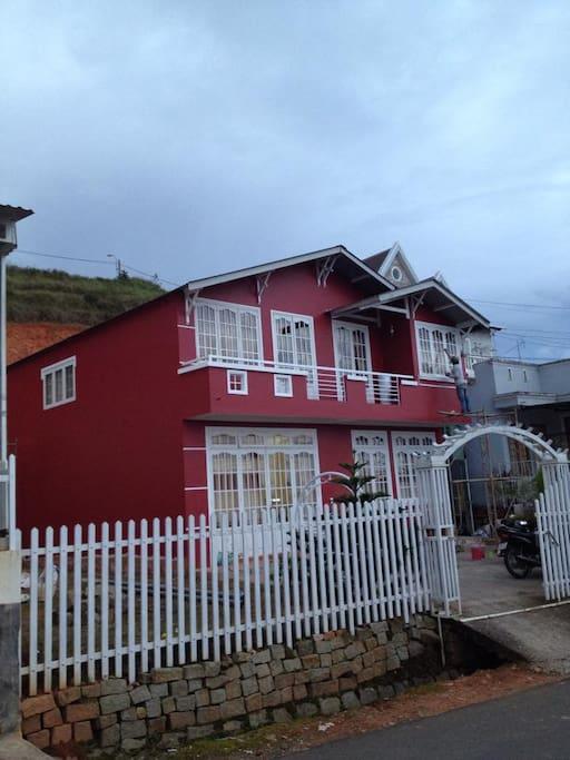 Dalat authentic homestay-balcony