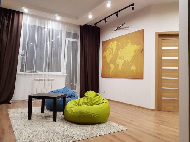 Умная квартира в сказочном жилом комплексе БАВАРИЯ - Krasnoobsk - Apartment