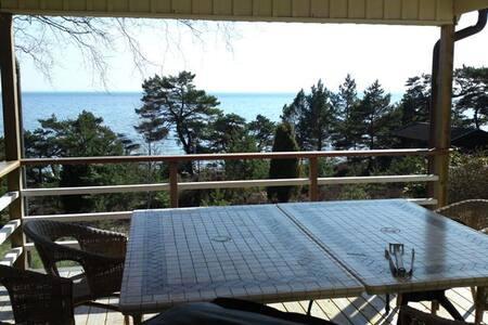 Sjöställe med unik utsikt & komfort - Nynäshamn - Villa