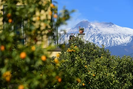 charming bed and breakfast near Etna Taormina