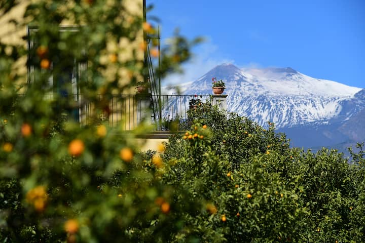 charming bed and breakfast near Etna Taormina