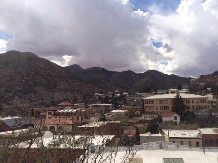 View of old Bisbee