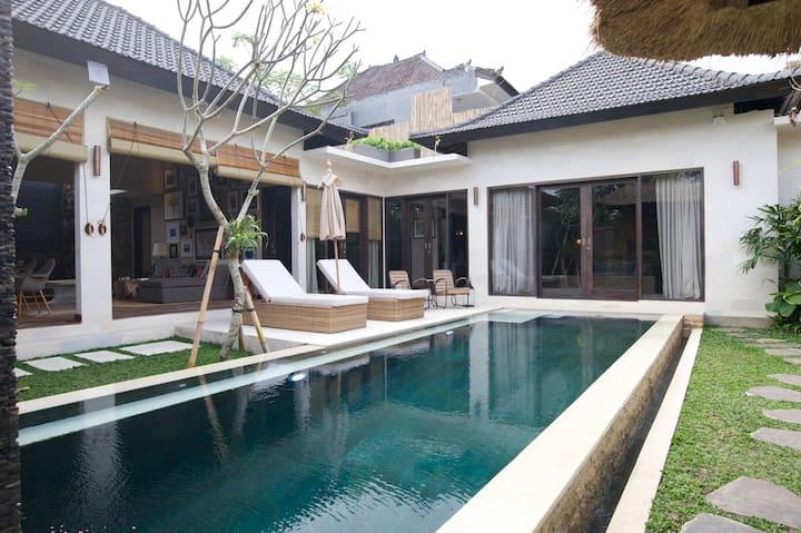 Villa Amara 3BR+2BA+Pool Penestanan
