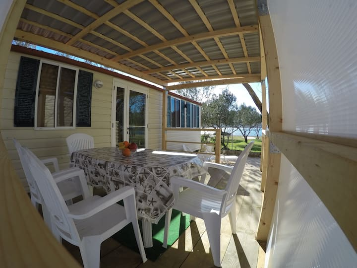 Mobile home Tino with amazing seaview!