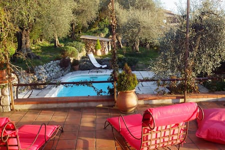 Charming villa with panoramic view - Castagniers - House