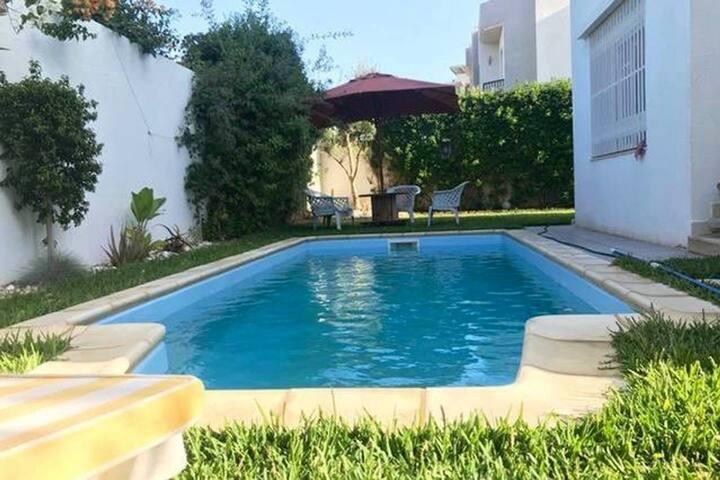 Villa les jardins de Carthage