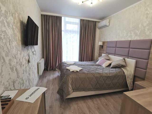 Уютные комнаты 20 кв.м с евро ремонтом!